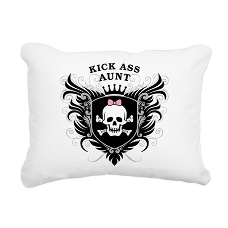 kick_ass_aunt.png Rectangular Canvas Pillow