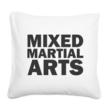 Mixed Martial Arts Square Canvas Pillow