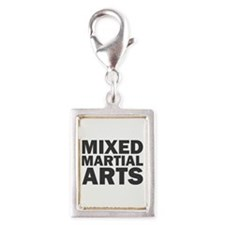 Mixed Martial Arts Silver Portrait Charm