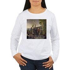 Christopher Columbus Lands T-Shirt