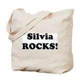 Silvia Rocks! Tote Bag