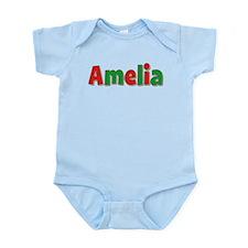 Amelia Christmas Infant Bodysuit