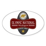 Olympic Natural Marquis Bumper Stickers