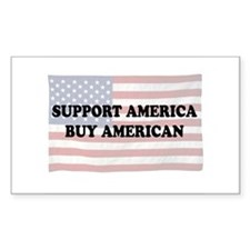 Support America - Buy American Decal