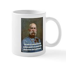 Franz Josef I Small Mug