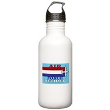 Air Force-Retired-6.png Water Bottle