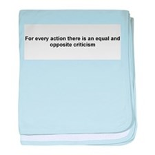 For every action, there is an equal and opposite..