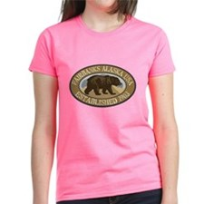Fairbanks Brown Bear Badge Tee
