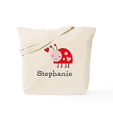 Ladybug (p) Tote Bag