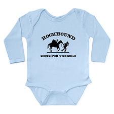 Rockhound Going For The Gold Long Sleeve Infant Bo