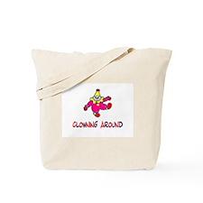 Clowning Around Tote Bag