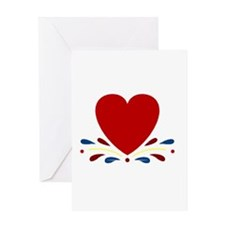 Country Heart Greeting Card