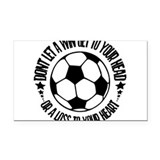 Soccer_AWin.psd Rectangle Car Magnet
