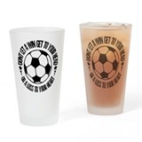 Soccer_AWin.psd Drinking Glass
