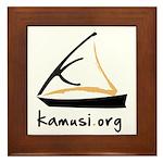 kamusi.org Framed Tile