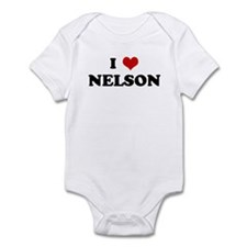 I Love NELSON Infant Bodysuit