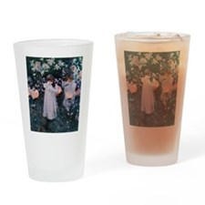Sargent Carnation Lily Lily Rose Drinking Glass