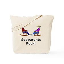 Godparents Rock Tote Bag