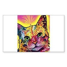 Psychadelic Cat Bumper Stickers