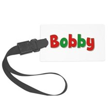 Bobby Christmas Luggage Tag