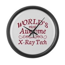 Awesome X-Ray Tech Large Wall Clock