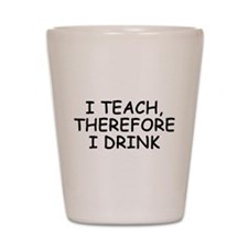 Unique Love teaching Shot Glass
