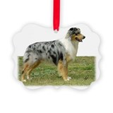 Australian shepherd Picture Ornament