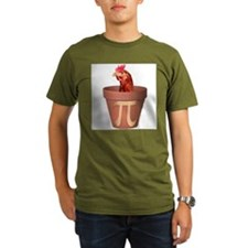 Chicken Pot Pi Ash Grey T-Shirt T-Shirt