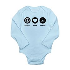 Canoe Slalom Long Sleeve Infant Bodysuit