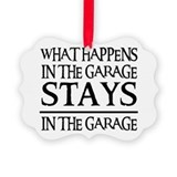 Cute Garage Ornament