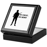 My Uncle, My Hero!... Keepsake Box