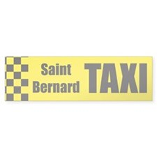 Saint Bernard Bumper Stickers