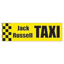 Jack Russell Bumper Car Sticker