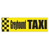 Greyhound Bumper Car Sticker