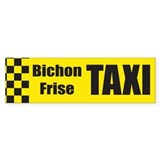 Bichon Frise Bumper Bumper Sticker