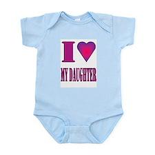 I heart daughter Infant Bodysuit