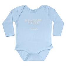 Rearden Steel Long Sleeve Infant Bodysuit