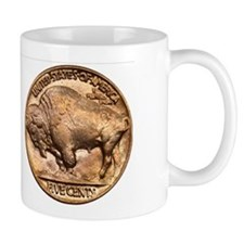 Nickel Indian-Buffalo Coffee Mug