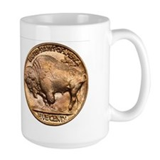 Nickel Indian-Buffalo Mug