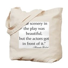 Funny Little theater Tote Bag