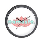 Namaste Lotus Wall Clock