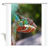 Cute Reptiles and lizards Shower Curtain