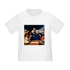 Madonna with Fish Raphael 146 Toddler T-Shi