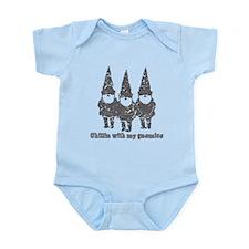 Chillin with my gnomies Infant Bodysuit