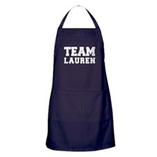 TEAM LAUREN Apron (dark)