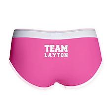 TEAM LAYTON Women's Boy Brief