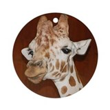African Giraffe - Porcelain Ornament/Keepsake