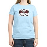 Pirate Mom Women's Pink T-Shirt