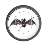 Bats Wall Clock
