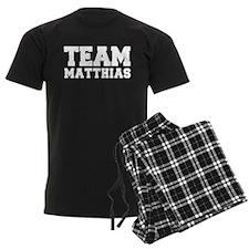 TEAM MATTHIAS Pajamas